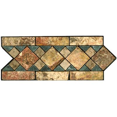 Stone Collection Mexican Travertine Decorative Borders Michelle Tile & Stone