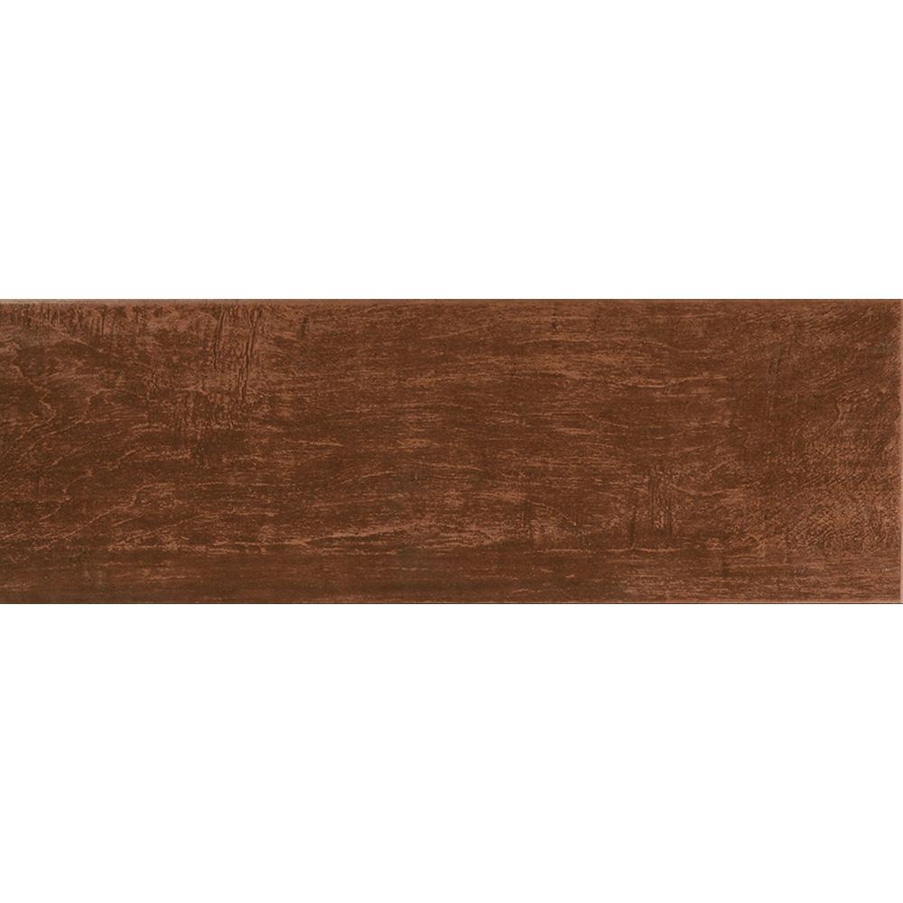 Interceramic Colonial Wood 6 x 20 Mahogany Tile & Stone
