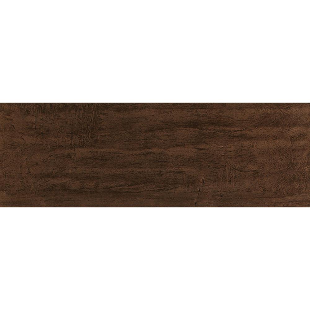Interceramic Colonial Wood 6 x 20 Walnut Tile & Stone