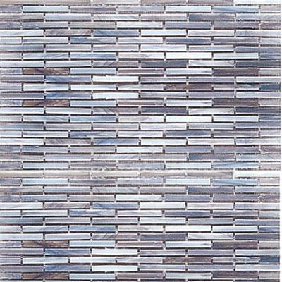 Interceramic Interglass - 12 x 12 Mosaics Marrone Retangular Tile & Stone