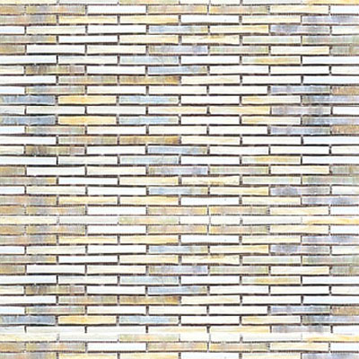 Interceramic Interglass - 12 x 12 Mosaics Ocre Retangular Tile & Stone