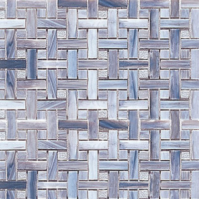 Interceramic Interglass - 12 x 12 Mosaics Smoke Weaves Tile & Stone