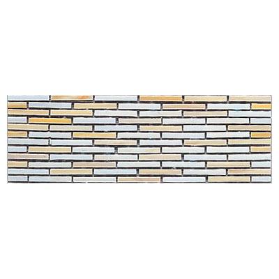 Interceramic Interglass - 4 x 12 Mosaics Retangular Canvas Mosaic Tile & Stone