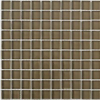 Interceramic Interglass Shimmer Mosaic 1 x 1 Bronze Tile & Stone