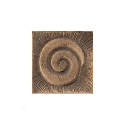 Interceramic Jewelstones Metal Insert A 2 x 2 Bronze Metal Insert A Tile & Stone