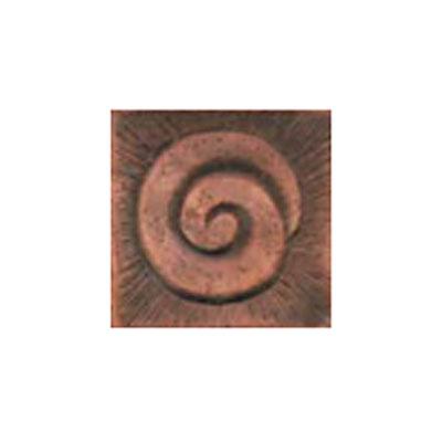 Interceramic Jewelstones Metal Insert A 2 x 2 Copper Metal Insert A Tile & Stone