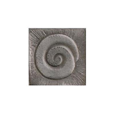 Interceramic Jewelstones Metal Insert A 2 x 2 Pewter Metal Insert A Tile & Stone