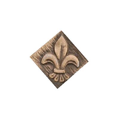 Interceramic Jewelstones Metal Insert C 1 x 1 Bronze Metal Insert C Tile & Stone