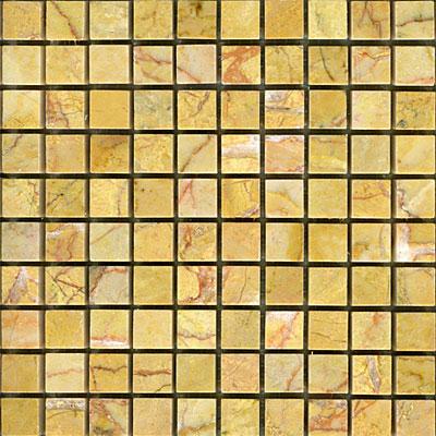 Maestro Mosaics Marble 5/8 x 5/8 Mosaic Polished Amber Rouge Tile & Stone