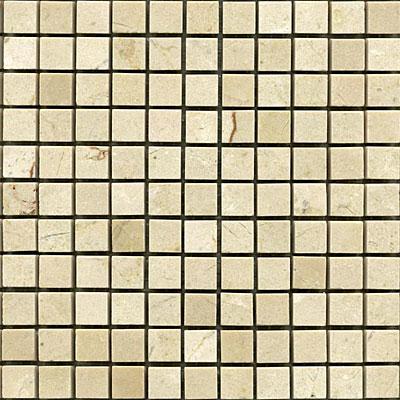 Maestro Mosaics Marble 5/8 x 5/8 Mosaic Polished Crema Light Tile & Stone