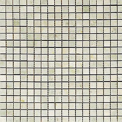 Maestro Mosaics Marble 5/8 x 5/8 Mosaic Tumbled Ming Tile & Stone