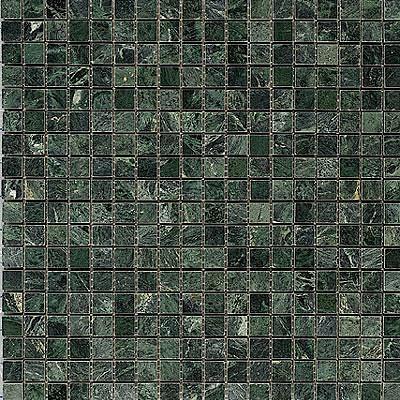 Maestro Mosaics Marble 5/8 x 5/8 Mosaic Polished Verde Marble Tile & Stone