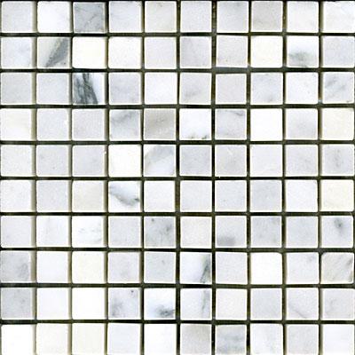Maestro Mosaics Marble 5/8 x 5/8 Mosaic Tumbled White Statuary Tile & Stone