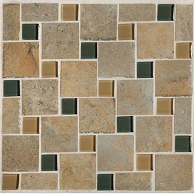 Mannington Antiquity Mosaic Pinwheel 10 x 10 Patina