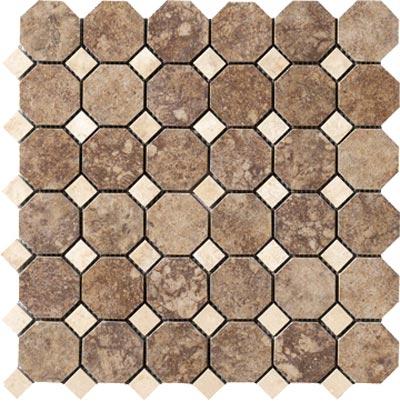 Marazzi Campione Octagon Mosaic 2 x 2 Andretti Tile & Stone