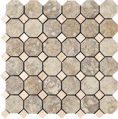 Marazzi Campione Octagon Mosaic 2 x 2 Sampras Tile & Stone