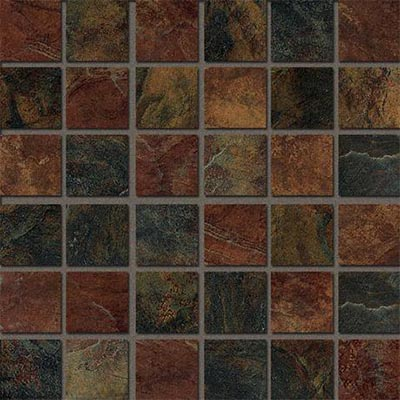 Marazzi Imperial Slate Mosaic (2x2 Square) Mix Tile & Stone
