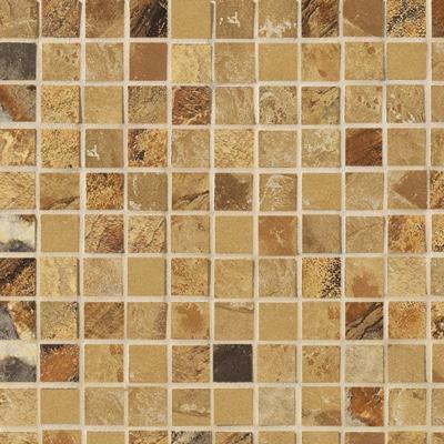 Marazzi Jade Mosaic 1 x 1 Ochre Tile & Stone