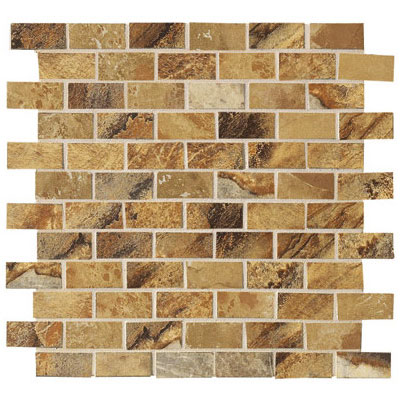 Marazzi Jade Mosaic 1 x 2 Ochre Tile & Stone