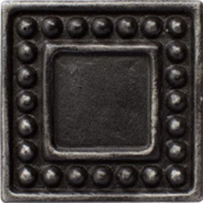 Marazzi Romance Collection Dot Insert 2 x 2 Wrought Iron Tile & Stone