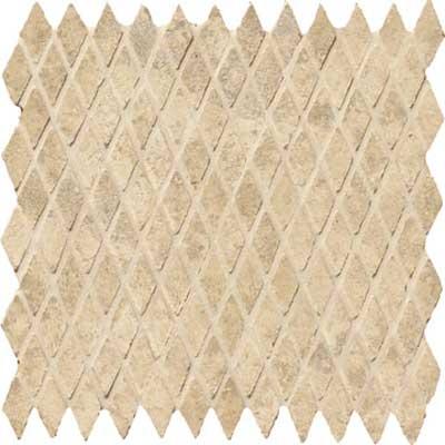 Marazzi Saturnia Diamond Mosaic 1 x 2 Creta Tile & Stone