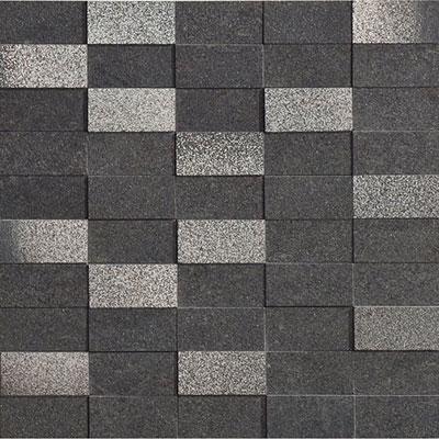 Marca Corona Eco Living Brick Mosaic Black (6259) Tile & Stone