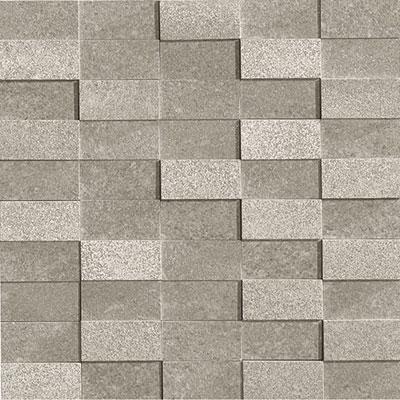 Marca Corona Eco Living Brick Mosaic Grey (6256) Tile & Stone