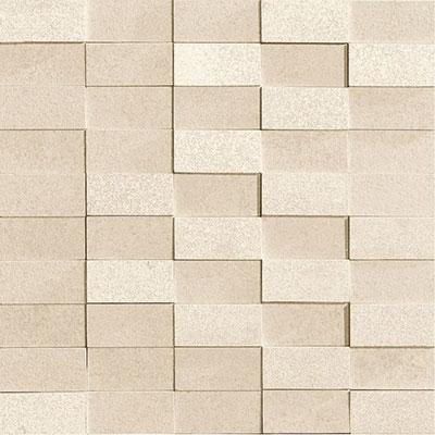 Marca Corona Eco Living Brick Mosaic Ivory (6255) Tile & Stone