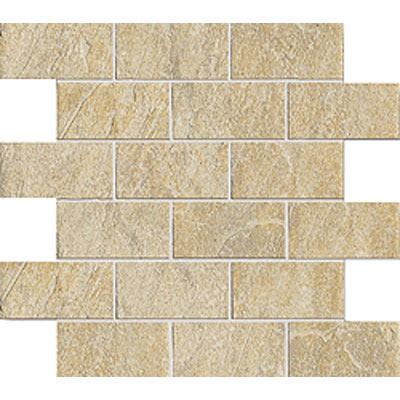 Marca Corona Ekos Stone Mosaic 2 x 4 Argilla P641 Tile & Stone
