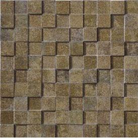 Marca Corona Re-Action Mosaic Green 3956 Tile & Stone