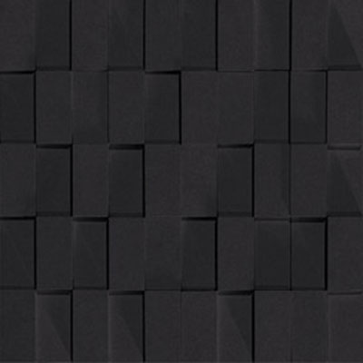 Marca Corona Skyline Brick Mosaic Black - 5924 Tile & Stone