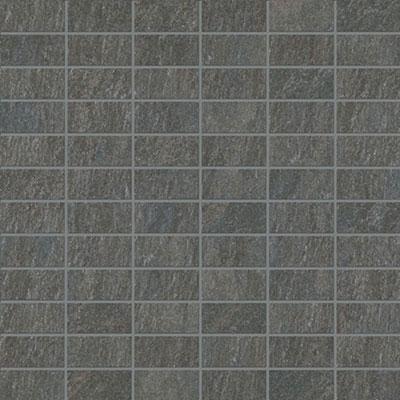 Marca Corona Stoneline 12 x 12 Mosaic Black 8009 Tile & Stone