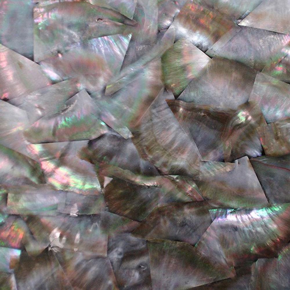 SeaTile SeaTile Laminate 9.5 x 5.25 w/ Adhesive Black Pearl Tile & Stone