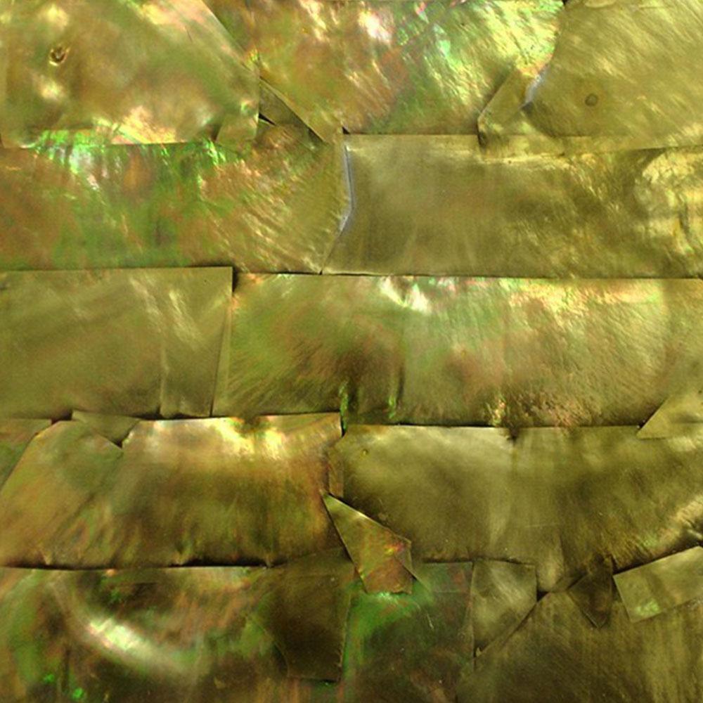 SeaTile SeaTile Laminate 9.5 x 5.25 w/ Adhesive Peridot Pearl Tint Tile & Stone