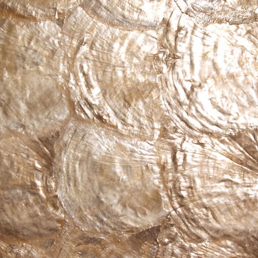 SeaTile SeaTile Capiz Shell 18 x 18 Capiz Gold Tile & Stone