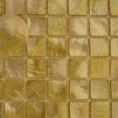 SeaTile SeaTile Mosaics 1 x 1 Golden Mother Of Pearl Mosaic Tile & Stone