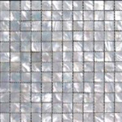 SeaTile SeaTile Mosaics 5/8 x 5/8 White Mother Of Pearl Mosaic Tile & Stone