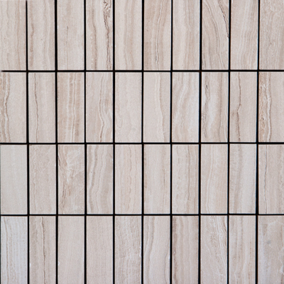 Megatrade Corp. Velvet Mosaico 12 x 12 Sand Tile & Stone