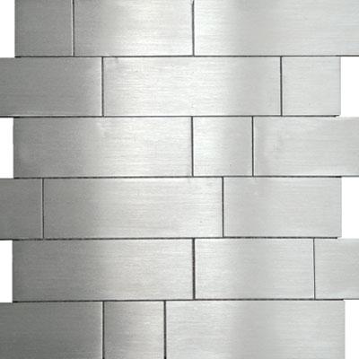 Metal Border Pure Metal Kios Mosaic Levigato/Sanded Tile & Stone