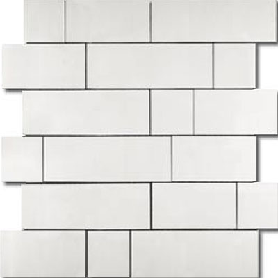 Metal Border Pure Metal Kios Mosaic Satin Tile & Stone
