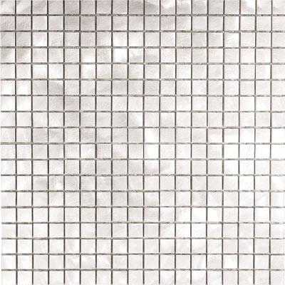 Metal Border Pure Metal Mosaic .5 x .5 Graffiato/Brushed Tile & Stone