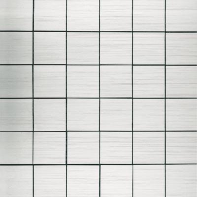 Metal Border Pure Metal Mosaic 2 x 2 Levigato/Sanded Tile & Stone