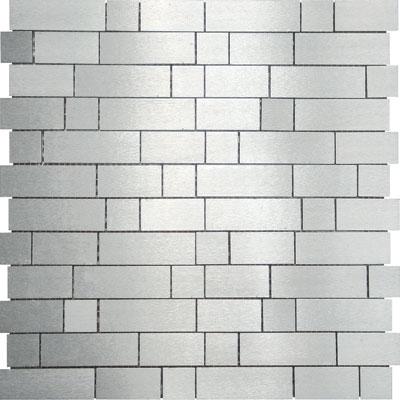 Metal Border Pure Metal Naxos Mosaic Levigato/Sanded Tile & Stone