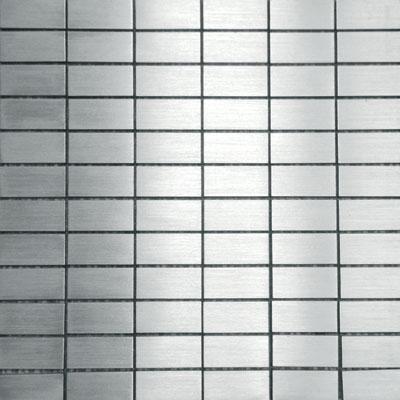 Metal Border Pure Metal Subway Mosaic Levigato/Sanded Tile & Stone