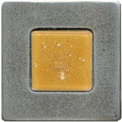 Miila Studios Aluminum Barcelona 2 x 2 Barcelona With Peach Ice Tile & Stone