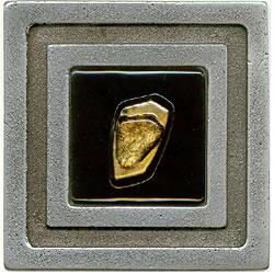 Miila Studios Aluminum Milan 4 x 4 Milan With Jewel Gold Tile & Stone