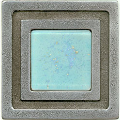 Miila Studios Aluminum Milan 4 x 4 Milan With Light Teal Tile & Stone