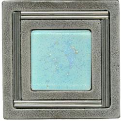 Miila Studios Aluminum Monte Carlo 4 x 4 Monte Carlo Light Taupe Tile & Stone