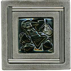 Miila Studios Aluminum Monte Carlo 4 x 4 Monte Carlo Midnight Sky Tile & Stone