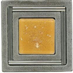 Miila Studios Aluminum Monte Carlo 4 x 4 Monte Carlo Peach Ice Tile & Stone
